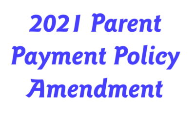Updated 2021 Parent Payment Advice (May 2021)